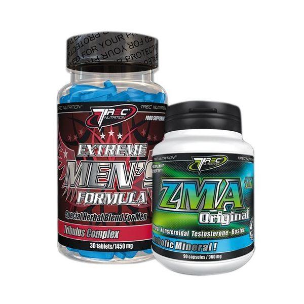 TREC Testosterone Booster Extreme Men's Formula 30 tab. + ZMA 30 kap.