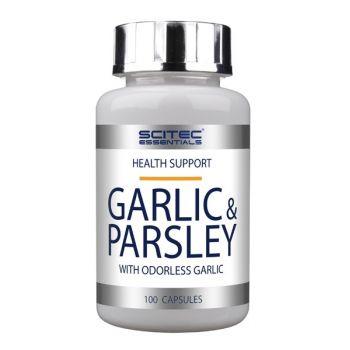 SCITEC Garlic & Parsley 100 kap.
