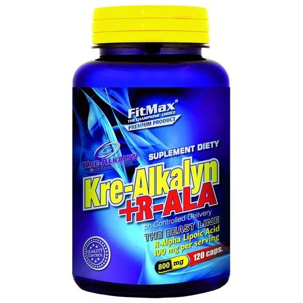 FITMAX Kre-Alkalyn + R-ALA 120 kap.