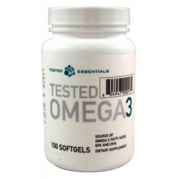 TESTED NUTRITION Omega-3 100 kap.