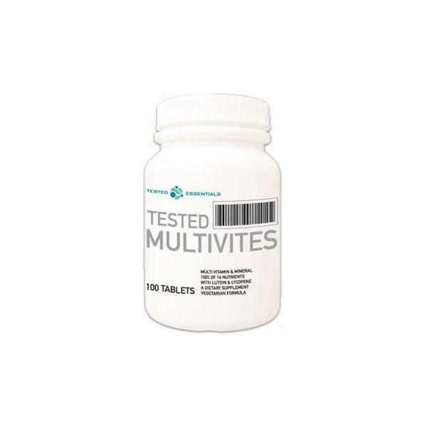 TESTED NUTRITION Multivites 100 tab.
