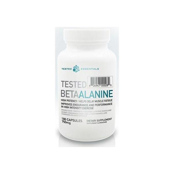 TESTED NUTRITION Beta Alanine 180 kap.