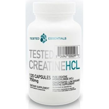 TESTED NUTRITION Creatine HCL (Con-Cret) 120 kap.