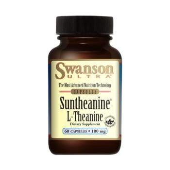 SWANSON Suntheanine (L-Teanina) 60 kap.