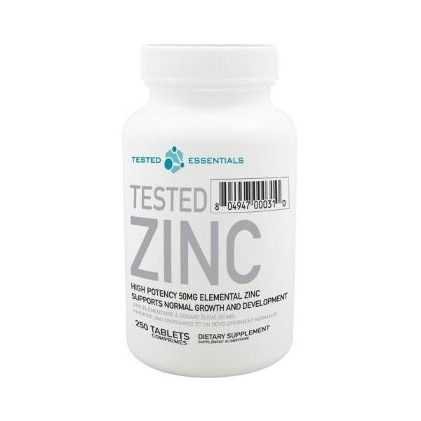 TESTED NUTRITION Zinc 250 kap.