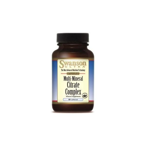 SWANSON Multi Mineral Citrate Complex 60 kap.