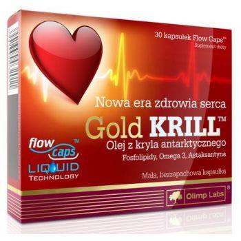 OLIMP Gold Krill 30 kap.