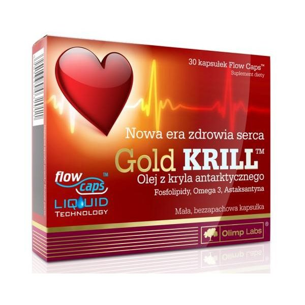 OLIMP Gold Krill 30 kap.