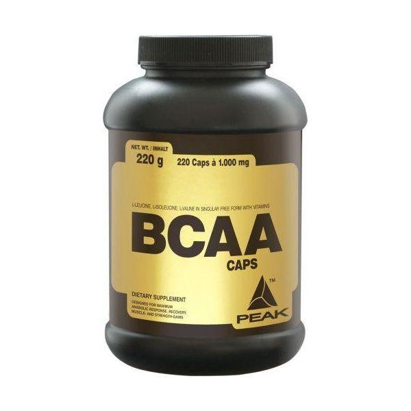 PEAK BCAA Caps 220 kap.