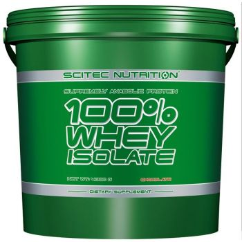 SCITEC 100% Whey Isolate 4000g