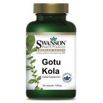 SWANSON Gotu Kola 60 kap.