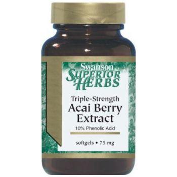SWANSON Acai Berry Extract 60 kap.