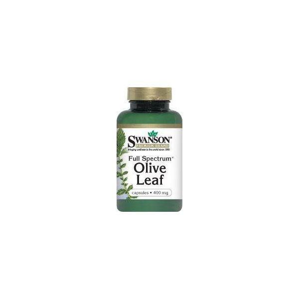 SWANSON Full Spectrum Olive Leaf 60 kap.