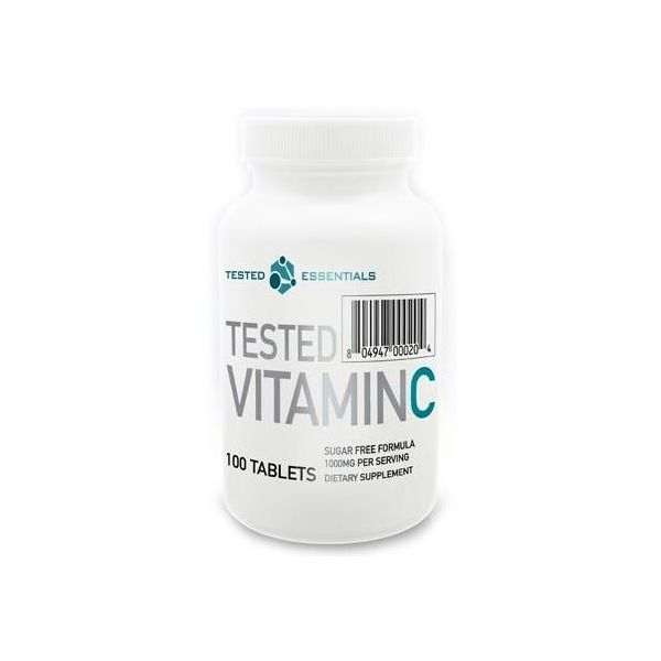 TESTED NUTRITION Vitamin C-1000 100 tab.