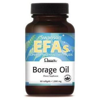 SWANSON Borage Oil 60 kap.