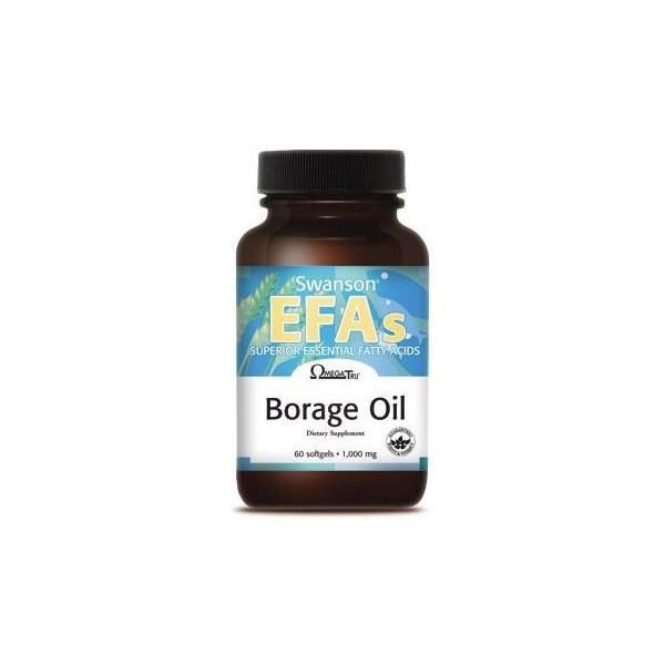 SWANSON Borage Oil 60 kap.