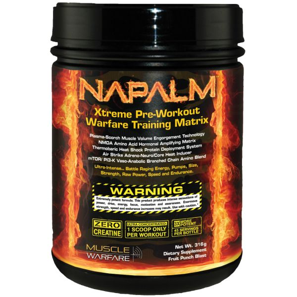 MUSCLE WARFARE Napalm 316g