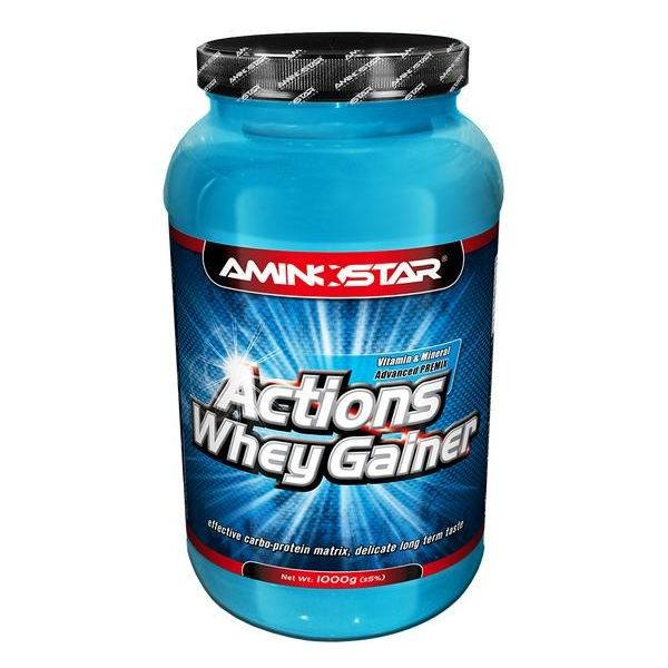 AMINOSTAR Actions Whey Gainer 4500g