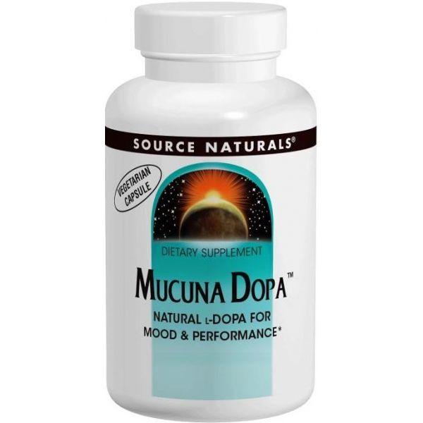 SOURCE NATURALS Mucuna Dopa 120 tab.