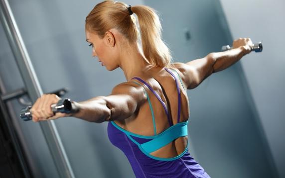 Zaawansowane ćwiczenia na mięśnie barków