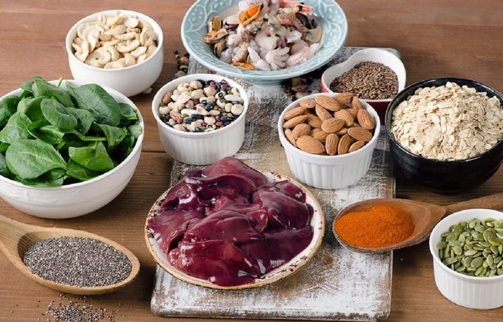 Produkty spożywcze zawierające mangan