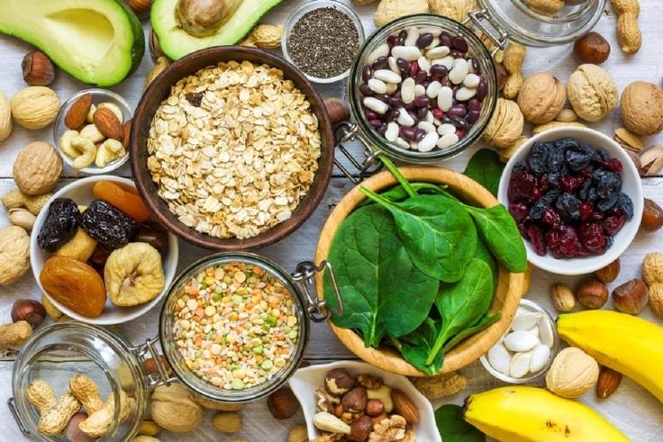 Produkty spożywcze zawierające potas