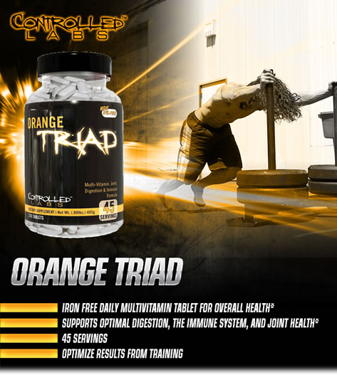 controlled labs orange triad opinie sklep usa