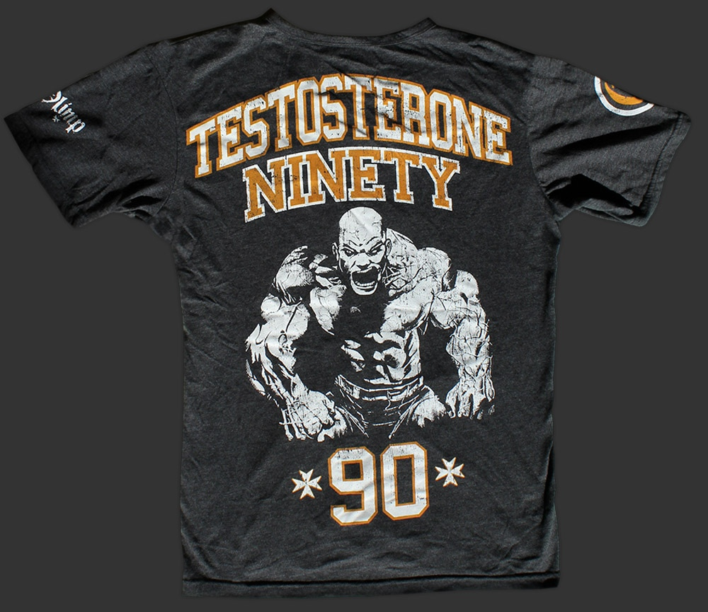 OLIMP LIVE & FIGHT Testosterone Ninety T-Shirt opinie