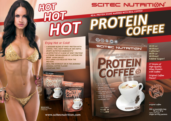 scitec protein coffee opinie