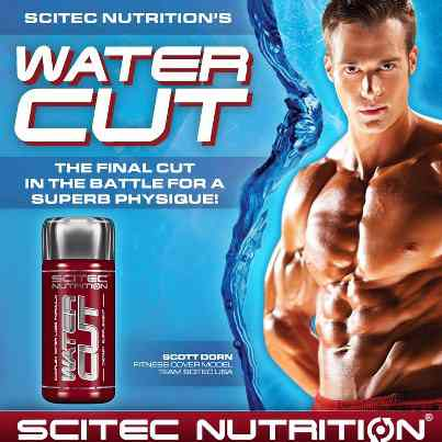 scitec nutrition water cut