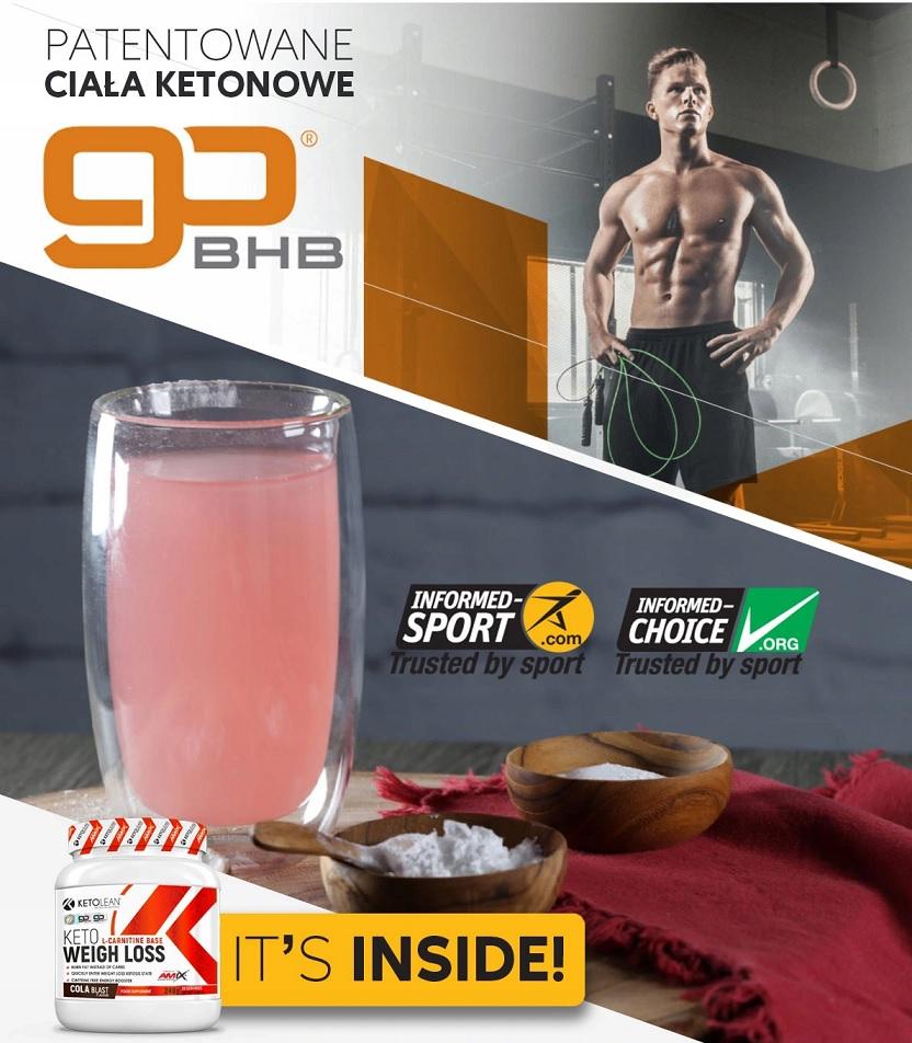 Amix KetoLean Keto BHB Weight Loss - opinie i efekty