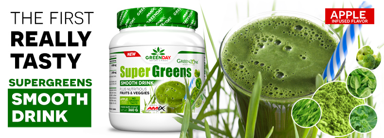 AMIX GreenDay Super Greens Smooth Drink