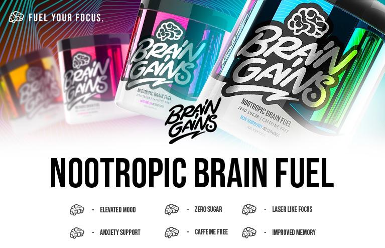Brain Gains Nootropic Brain Fuel opinie efekty