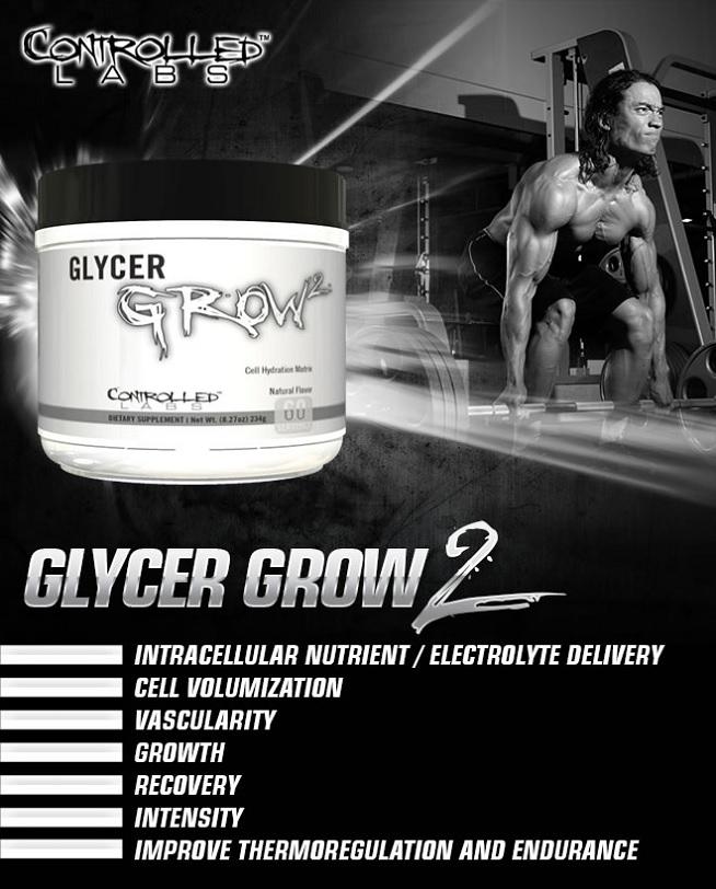 Controlled Labs GlycerGrow 2 opinie działanie