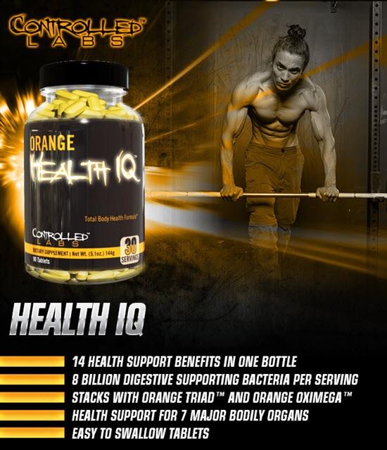 Controlled Labs Orange Health IQ - opinie i efekty