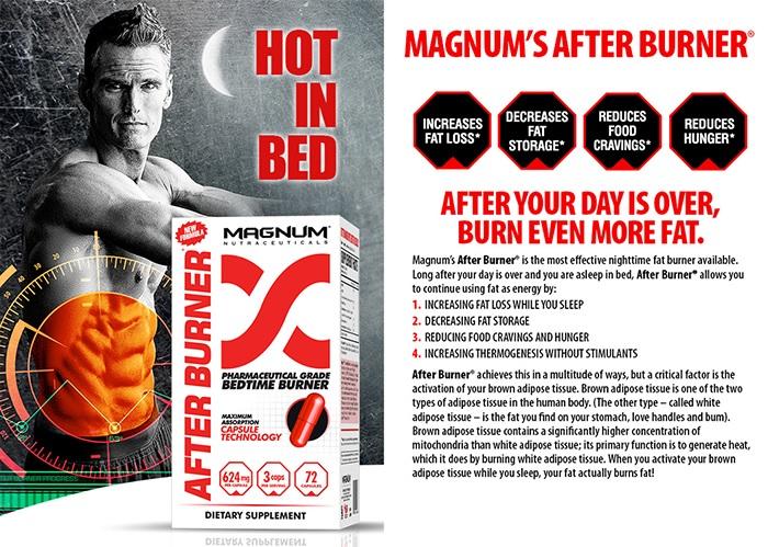 Magnum Nutraceuticals After Burner efekty
