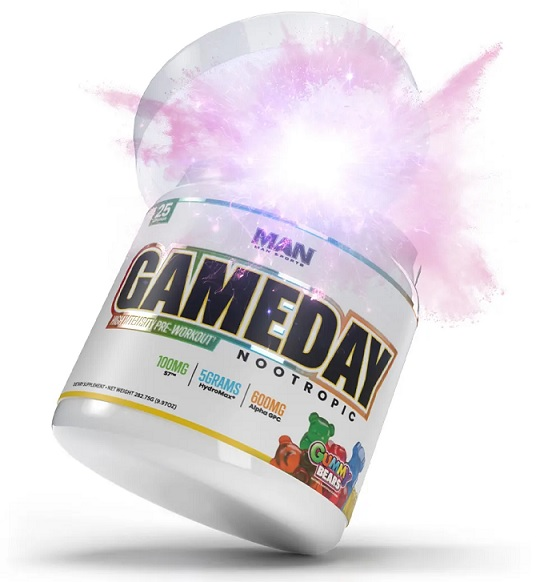 MAN Game Day Nootropic - opinie i działanie