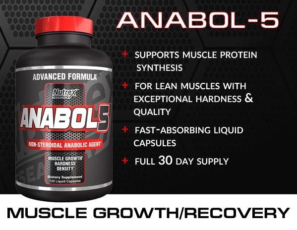 Nutrex Anabol5 - opinie i efekty oraz działanie