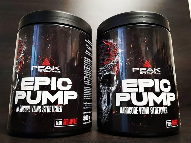 Peak Epic Pump opinie efekty