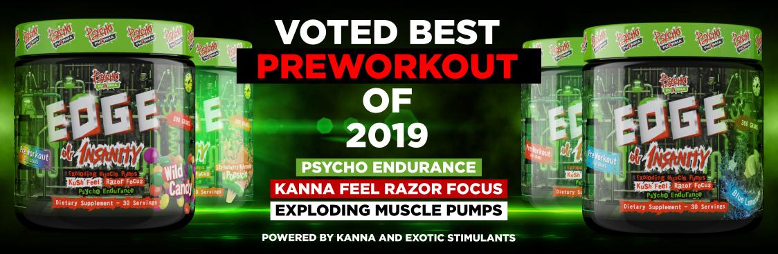Psycho Pharma Edge Of Insanity - najlepsza przedtreningówka