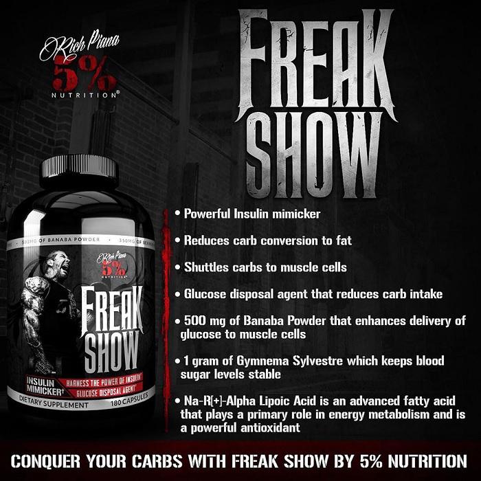 Rich Piana Freak Show - opinie i działanie