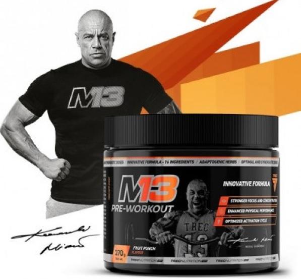 Trec M13 Pre-Workout opinie działanie