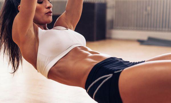 Trening na twardy, płaski brzuch